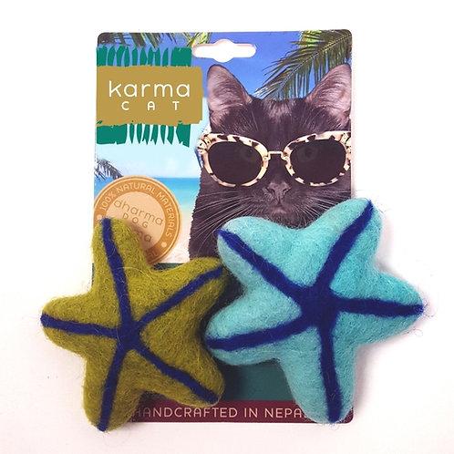 Starfish Wool Cat Toy