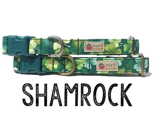 Shamrock Organic Cotton Pet Collar
