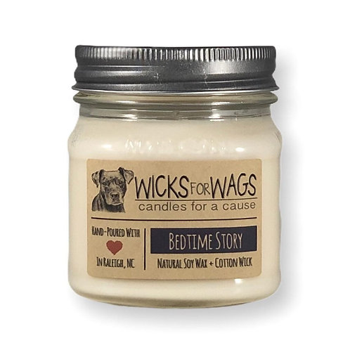 Bedtime Story / 8 oz Soy Candle