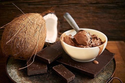 Coconut Chocolate Fudge-Vegan