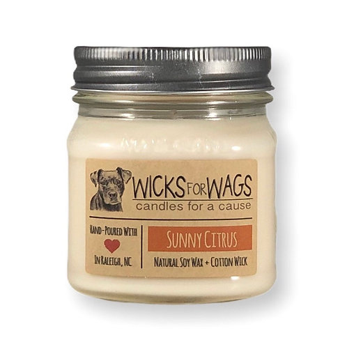 Sunny Citrus /8 ozSoy Candle