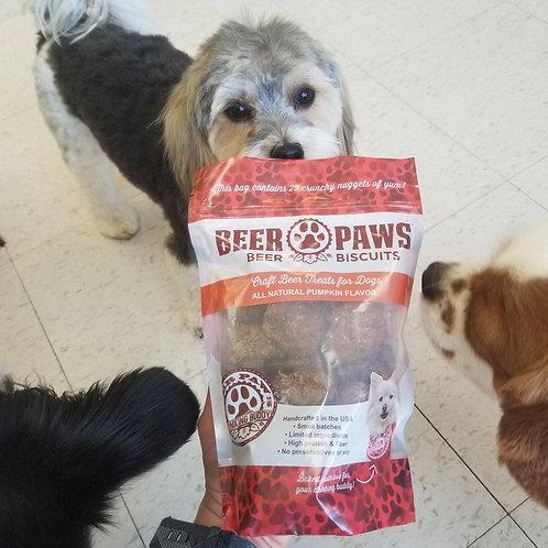 Pumpkin Beer Biscuits for Dogs