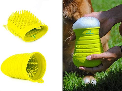 Dual Purpose Dog Paw Scrubber