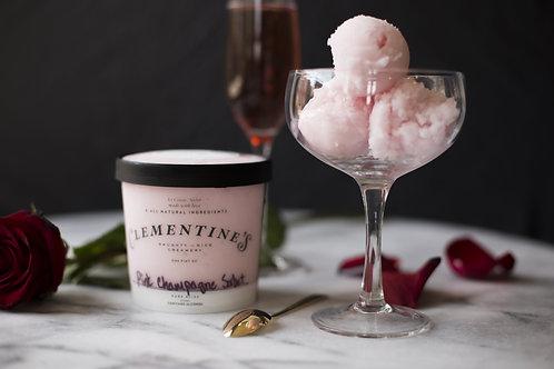 Pink Champagne Sorbet-Vegan & Naughty
