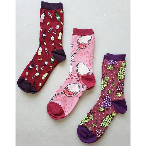 *Pre-Order* Women's WineFest Wine Socks *Pre-Order*