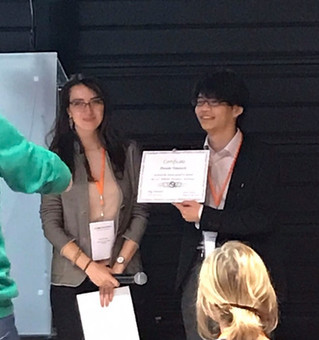 26th Wilhelm Bernhard Workshop on the Cell Nucleusにて、D2・高橋大輔がYoung Researcher Travel Awardを受賞しました。