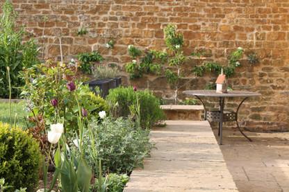 Calm, beautiful garden
