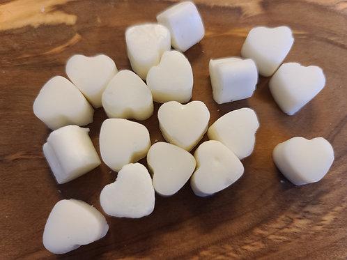 Headache relief heart-shaped wax melts