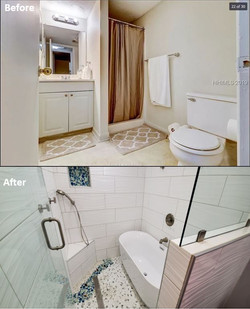 Before & After - Guest Bathroom2