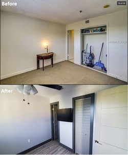 Before & After - Master Bedroom