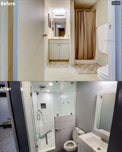 Before & After - Guest Bathroom