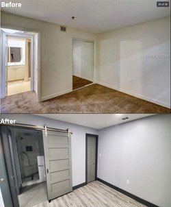 Before & After - Guest Bedroom