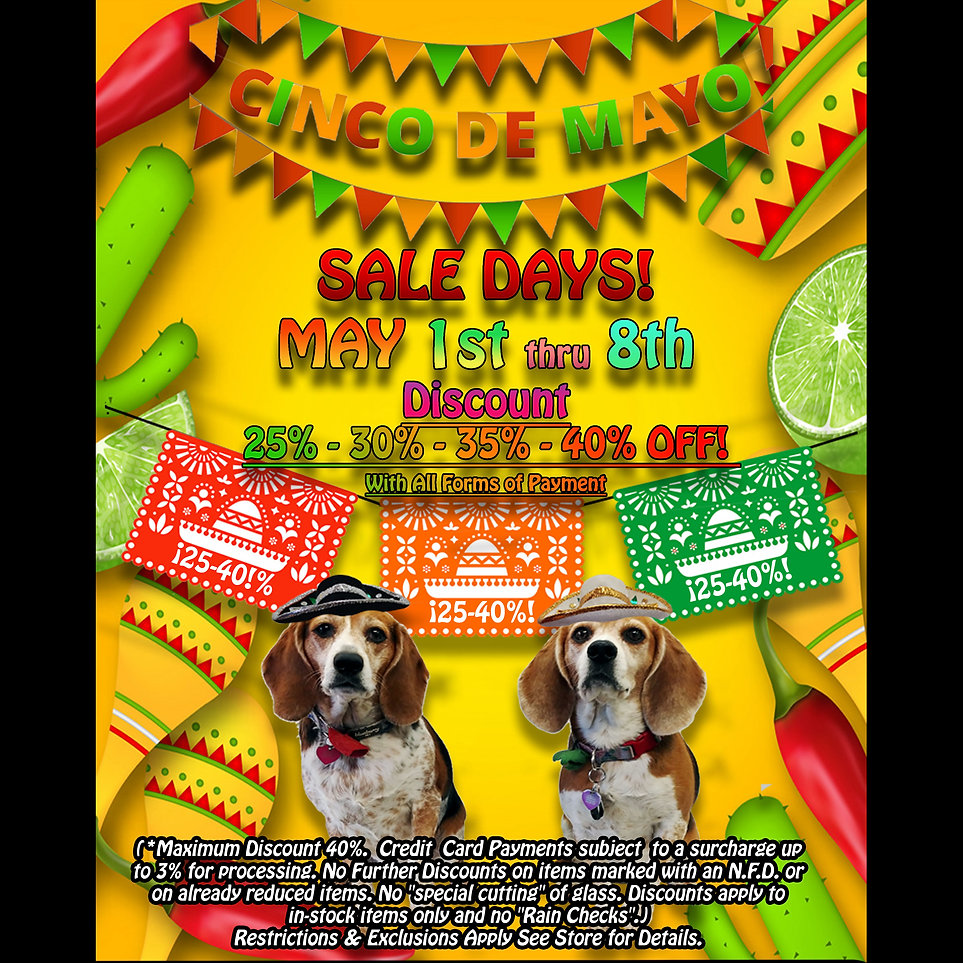 Cinco De Mayo - TSG - May Sale Days- 202