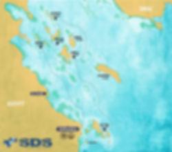 Kite safari map