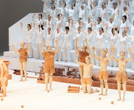i quattro pezzi sacri  Teatro del Maggio Fiorentino 2018  Compagnia Virgilio Sieni