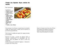 poulet legumes