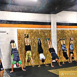 #Hand stand at _crossfitrehovot __crossfitkids _crossfitgames _crossfit _crossfitphotojournal _cross