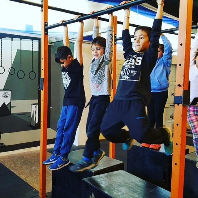Strong kids do pull ups_#crossfit #fitnessfreak #fitnessmotivation #fitness #crossfitters_israel #cr
