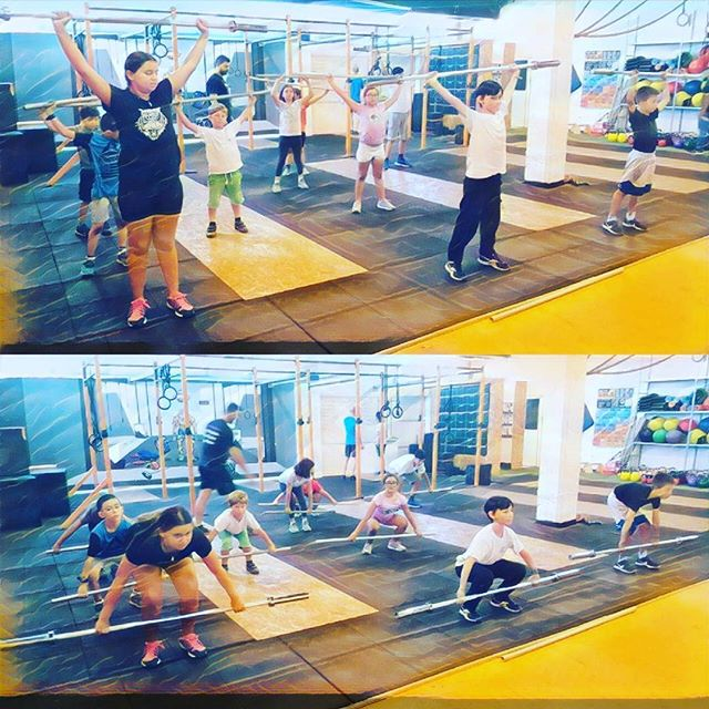 SNATCH WHEN THEM YOUNG! 🔥🔥🔥_crossfitrehovot_#crossfit #fitnessfreak #fitnessmotivation #fitness #