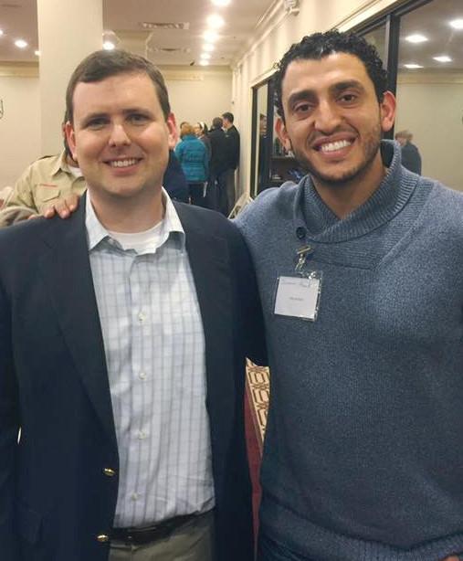 Attorneys John Hadden and Ibrahim Awad