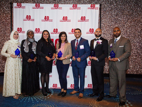 Selected Among 40 Under 40 GA Muslims