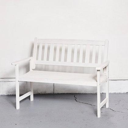 ベンチ ホワイト