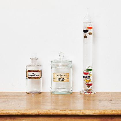 ガラスボトル/サーモメータ―