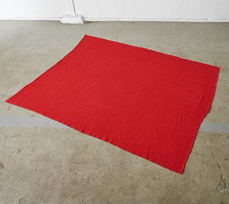 コットンラグ 赤