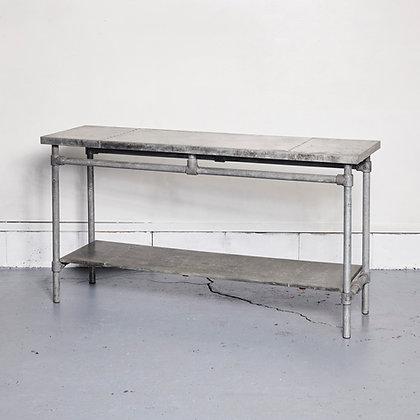 ジンクコンソールテーブル