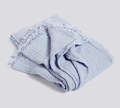 ブランケット cotton ライトブルー