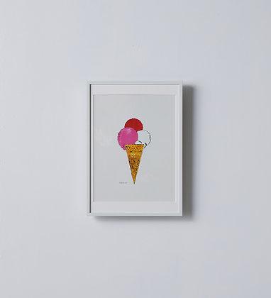 ピクチャーフレーム アイス