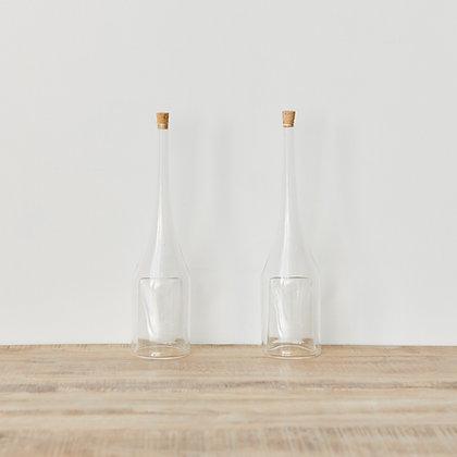 ヴィンテージガラスボトル