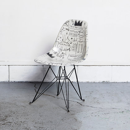 """シェルチェアדJean-Michel Basquiat"""""""