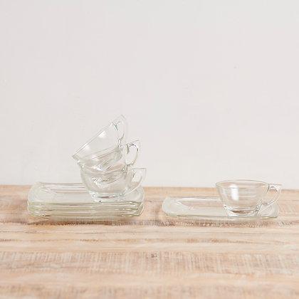 カップ&トレー ガラス
