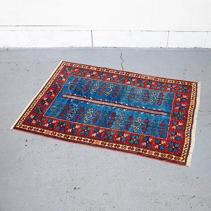 トルコラグ 赤×青