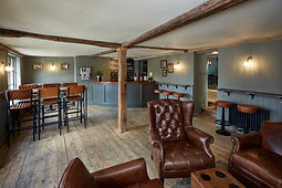 The Spotted Dog Flamstead -Bar area