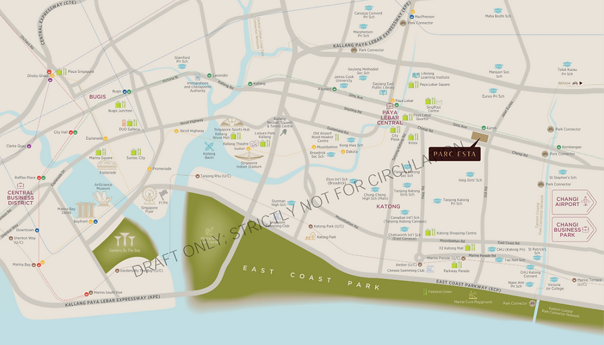 Parc Esta Location