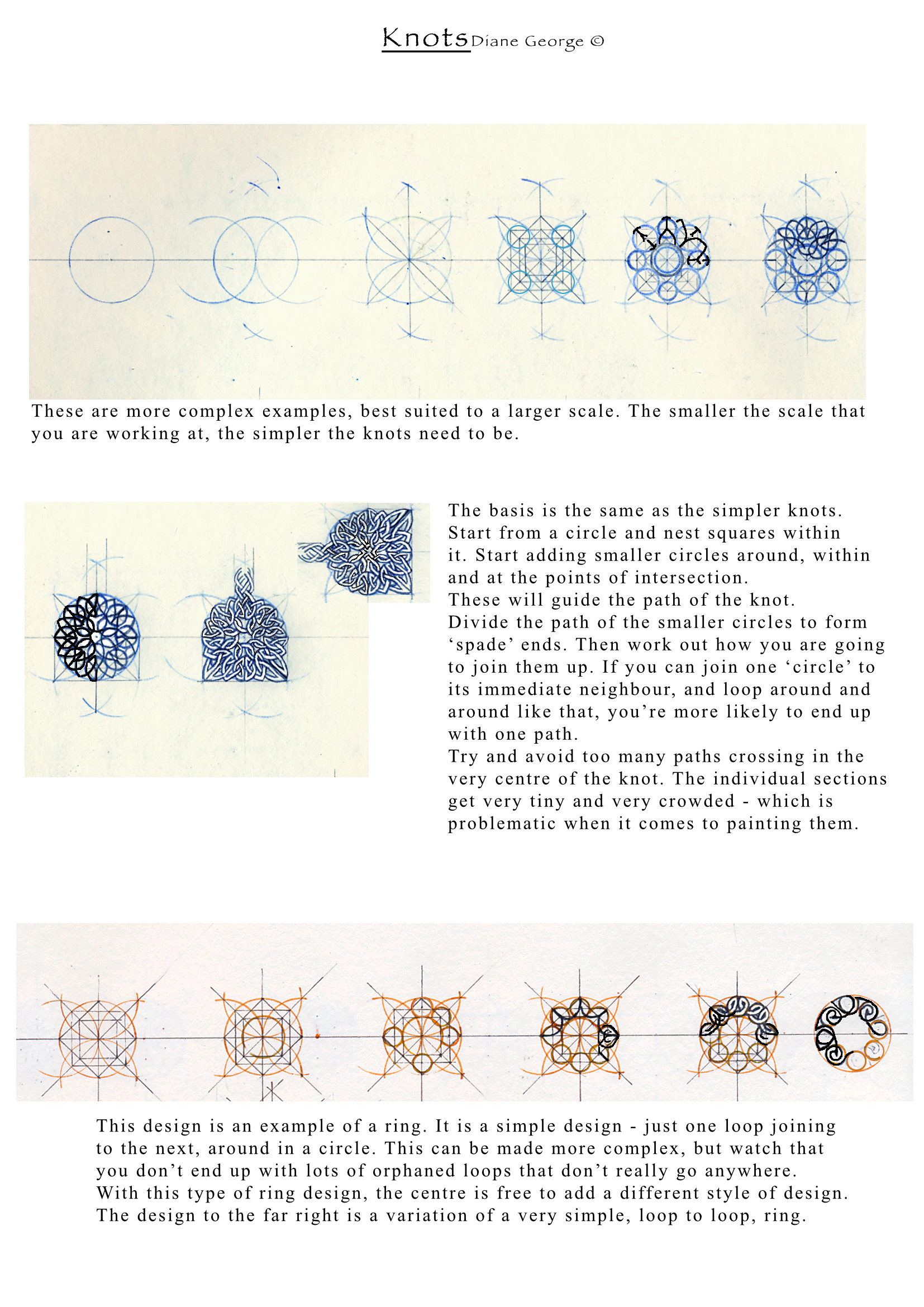 More Complex Knotwork Examples