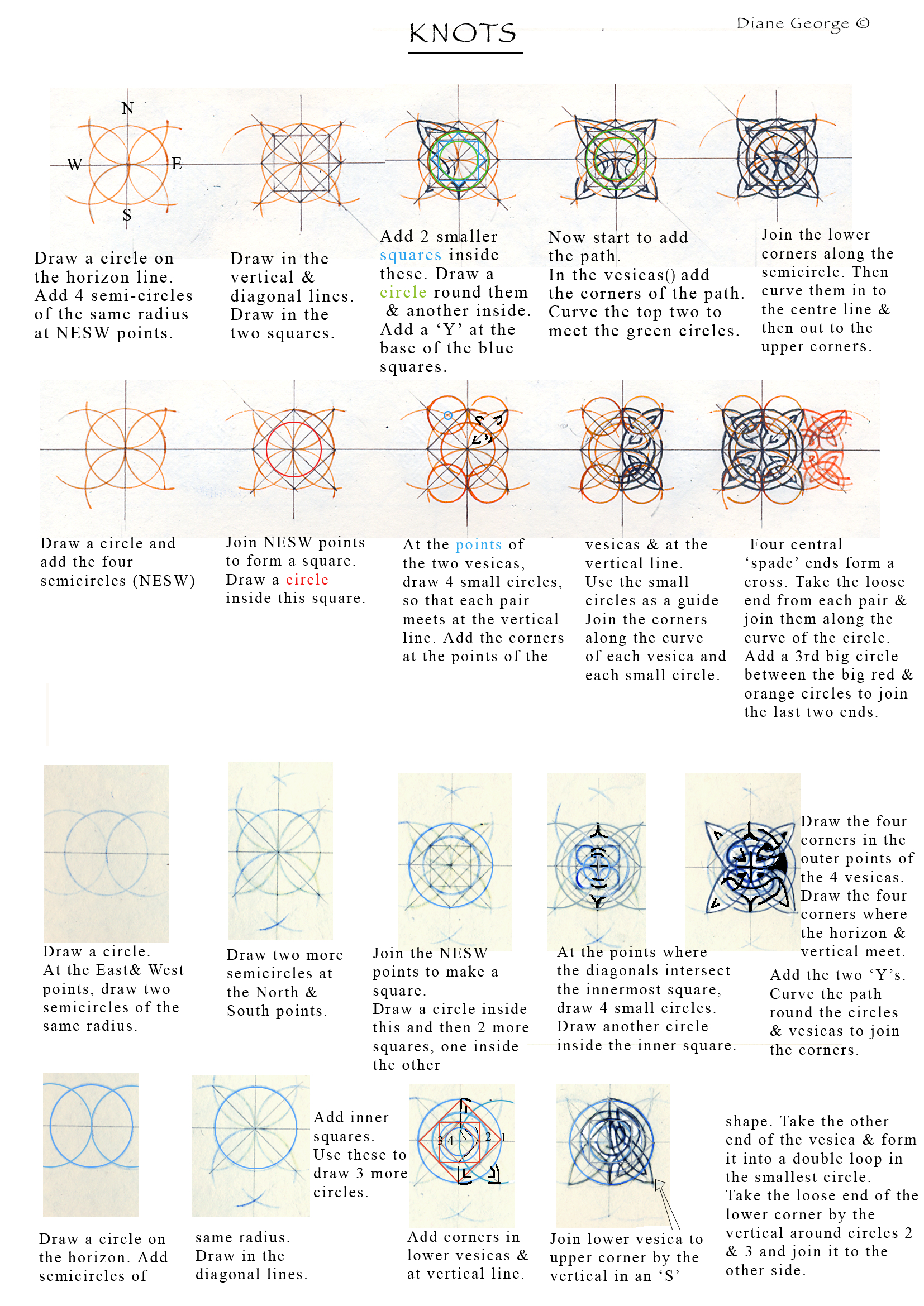 Celtic Knotwork Examples