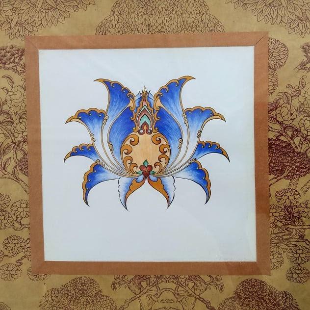Cobalt Blue Flower II