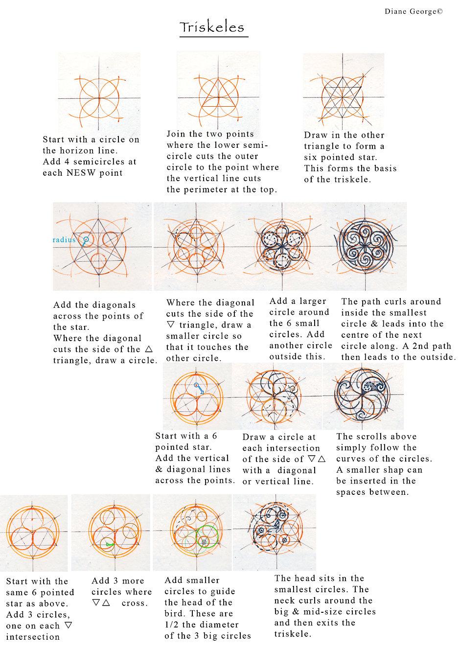 Ways of Varying the Basic Triskele