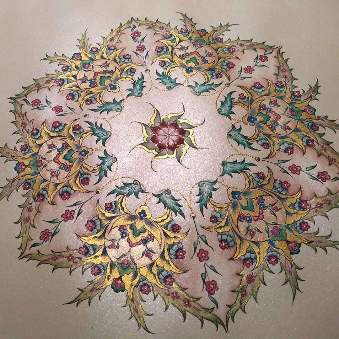 Sixfold Persian Flower