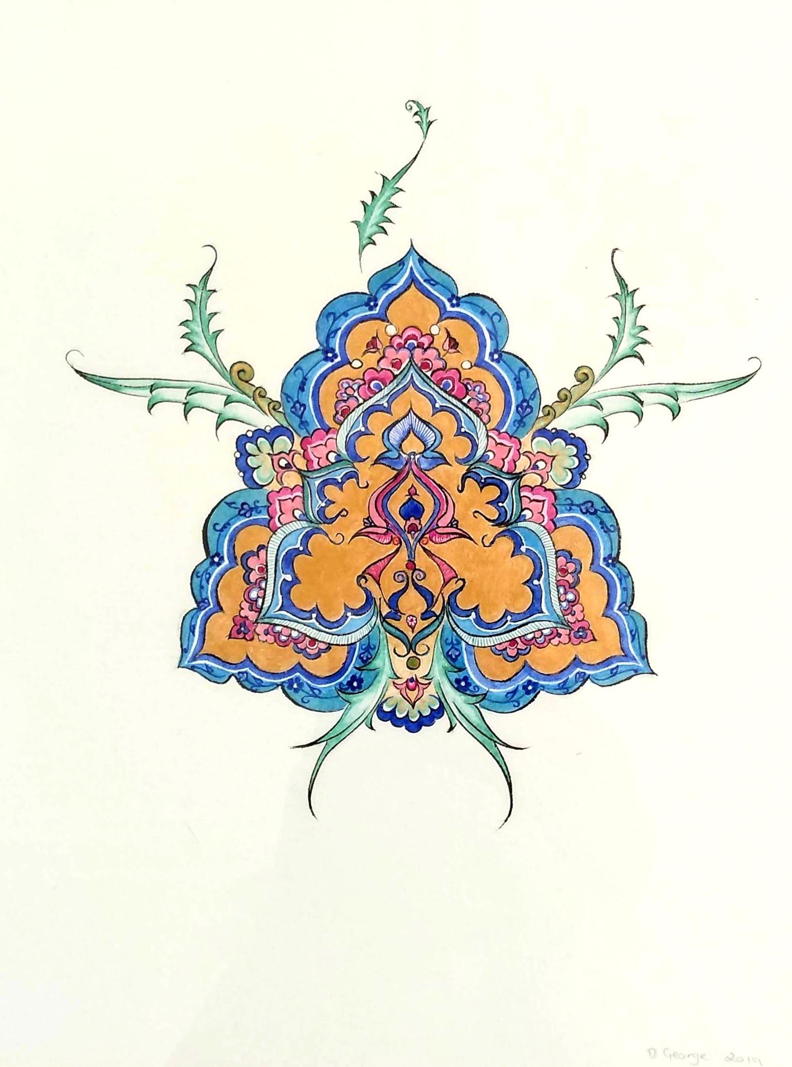 Iznik Flower