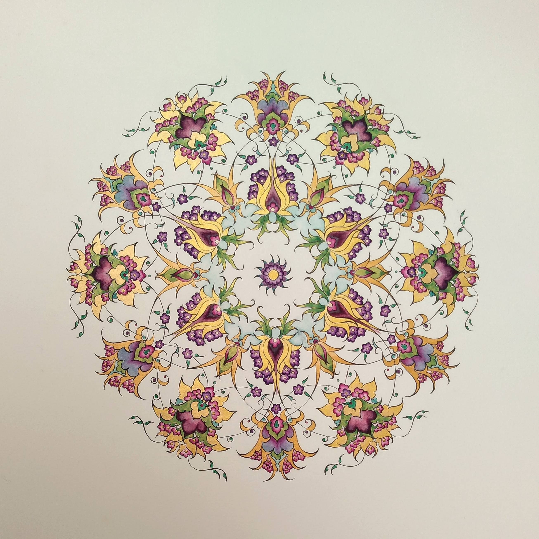 Persian Flower Roundel