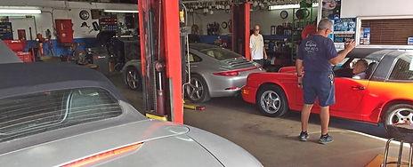 inside miami porsche service, repair, rebuild, ppi shop gp autowerks