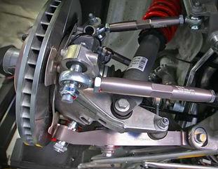 suspension upgrade done to porsche 997 by miami porsche shop gp autowerks