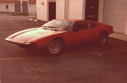 Historical photo: pantera arriving at george perdomo's shop with blown head in 1981