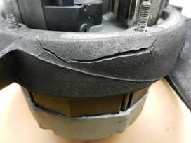Porsche: Magnesium Fan Housing Failure