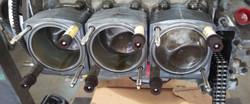 ARP Head studs are installed in Porsche engine
