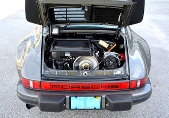 1979 Porsche 930 with running engine rebuilt by miami porsche engine rebuild specialist gp autowerks